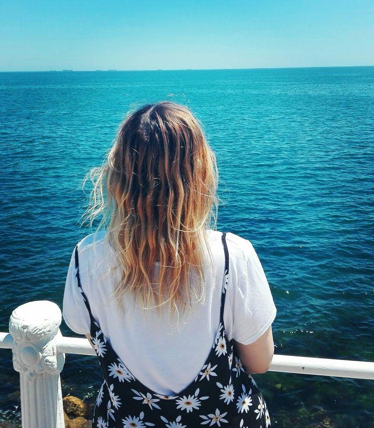 #aesthetic #ombrehair #friends #girls  #sea #ocean #trip