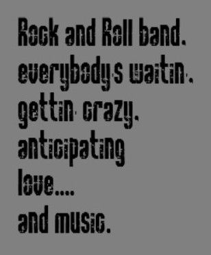 Classic Rock Lyric Quotes on QuotesTopics