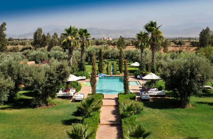 Dar Arbala, Morocco, Sleeps up to 14. This villa has the most breathtaking views of the Atlas Mountain range, mysterious and awe-inspiring whether frosted with winter snow or wreathed in summer heat haze.