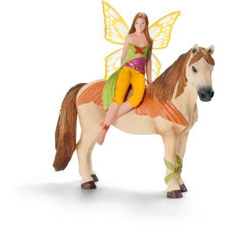 Schleich Sanjeela Fairy Elf Toy, Multicolor