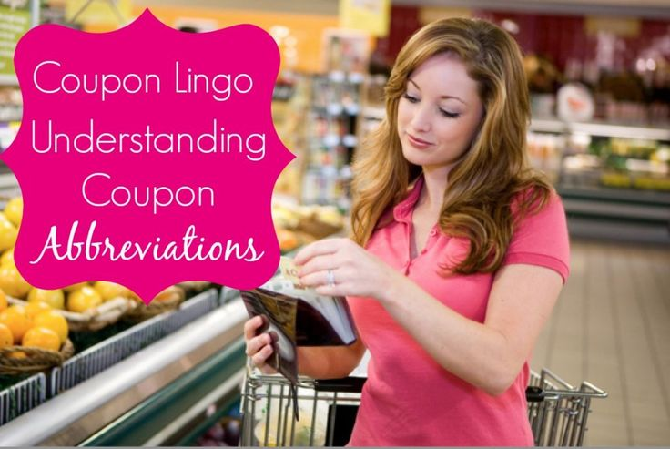 Coupons Abbreviations and Lingo List…