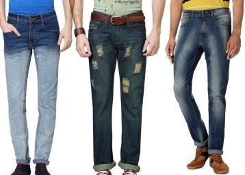 Trendin Diwali / Deepawali Sale Offer :Peter England, People & more Men's Jeans at 50% off - Best Online Offer