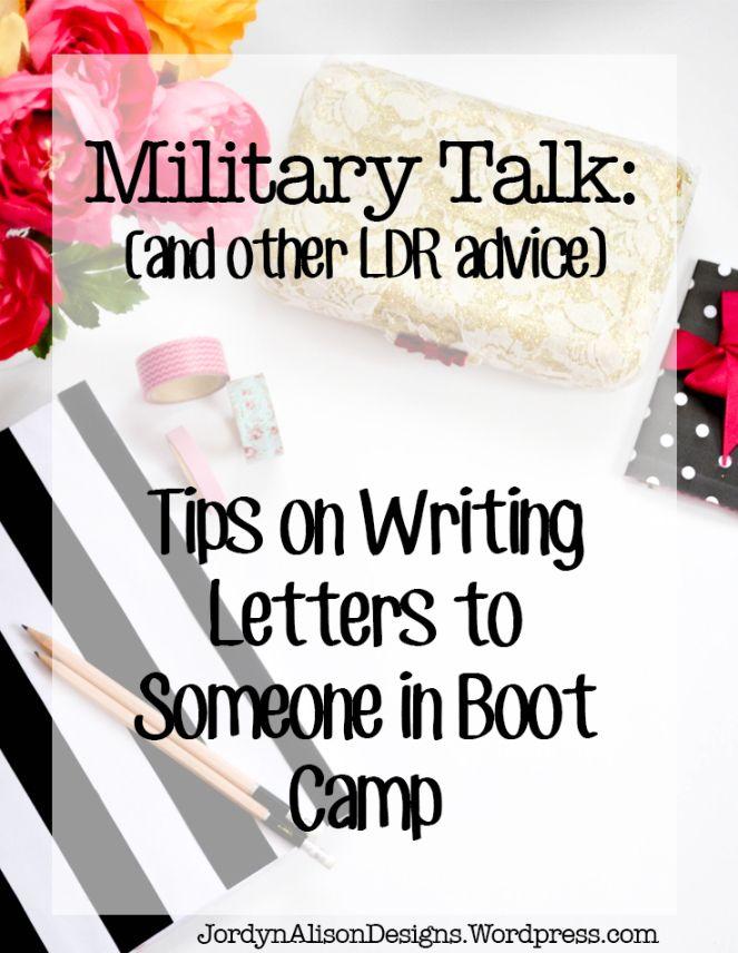 Letters To Boot Camp - Letters To Boot Camp