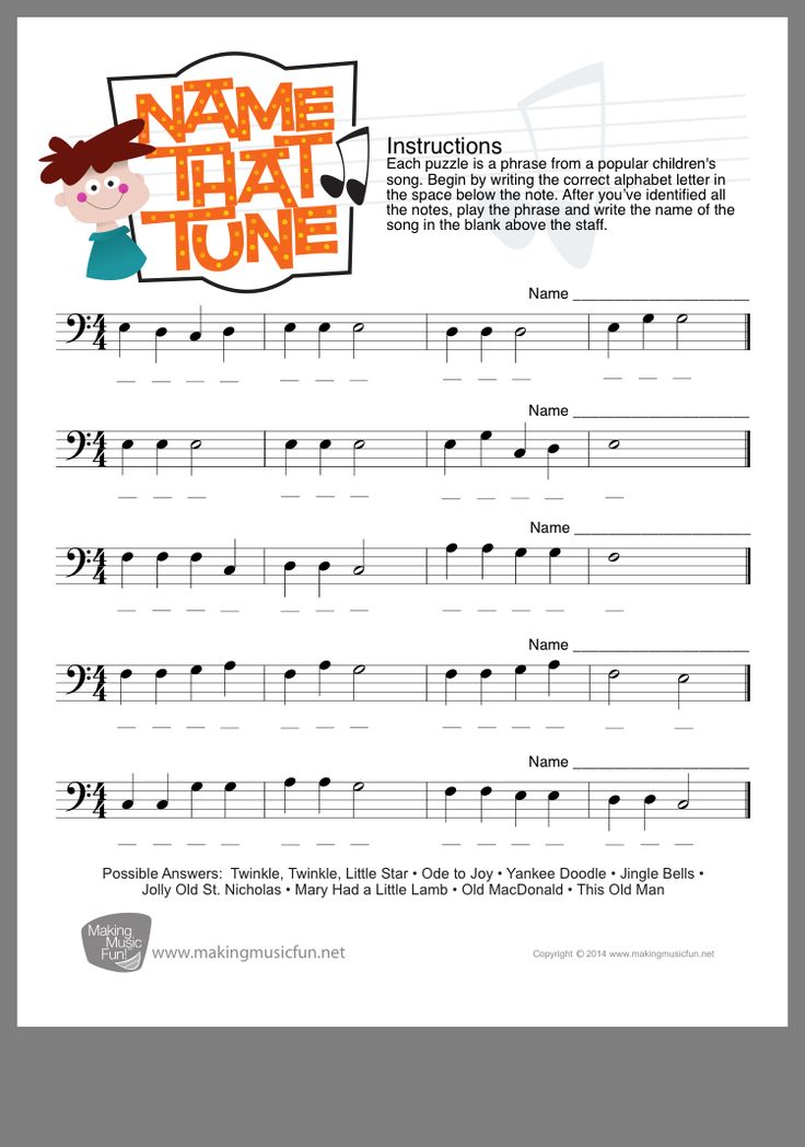 Pin by Lyndsay Gibson on Music resources Name that tune