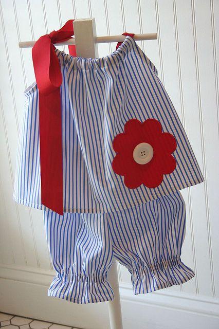 Pillowcase bloomer set