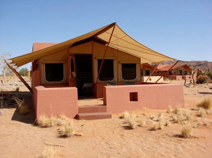 Where we stayed in Sossusvlei