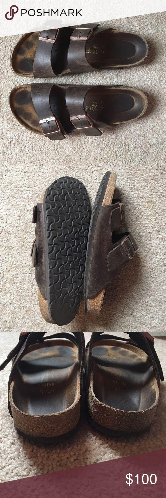 Birkenstock Arizona (Antique Brown Leather) End
