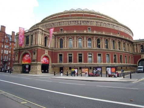 Royal Albert Hall, another place you must go to see a concert!