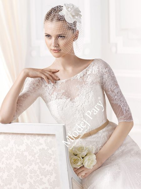Suknia ślubna La Sposa 2015, model EMILDA / Salon Flossmann Wrocław