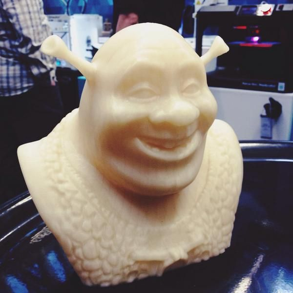 3D Shrek courtesy of the guys at Create 3D!