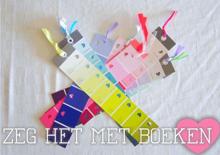DIY boekenlegger op www.gewoonmarieke.com