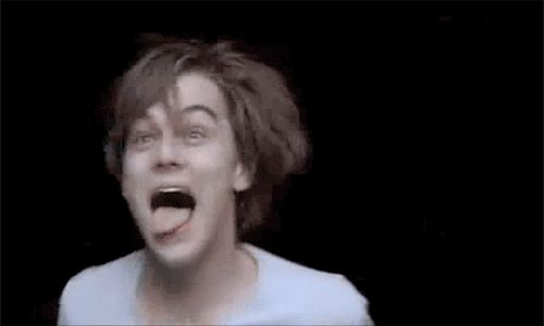 That time he looked like a prisoner of Azkaban. | Community Post: 15 Times Leonardo DiCaprio Completely Lost It