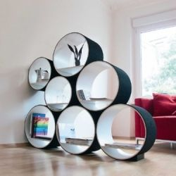 This Unusual Modular Collection Can Be Used As A Shelving Unit, A Room  Divider,