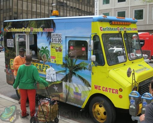 caribbean cafe truck