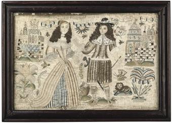 17th century needlework