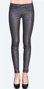 J Brand 901 Stonehenge Brand - 901 Coated Metallic Skinny - Moonwalk | Big Drop NYC ...