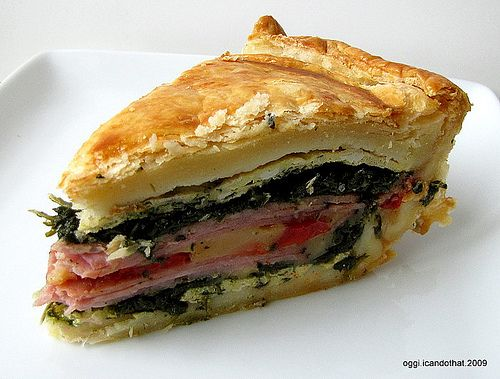 Tourte Milanese - I have made this many times and it is so good.  Impressive too.  It is in the Baking with Julia cookbook.  Many other good recipes in there too.