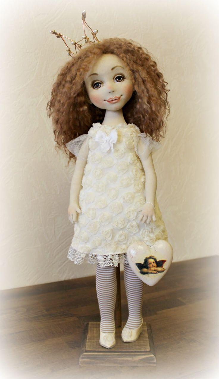 Принцесса №2 Куклы от Ольги Ким: куклы