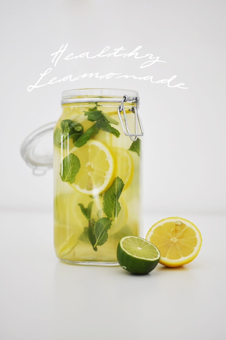 Opskrift: Sund honning ingefær lemonade