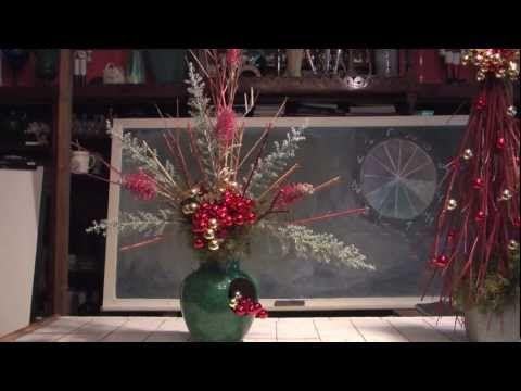 Contemporary Christmas Floral Design
