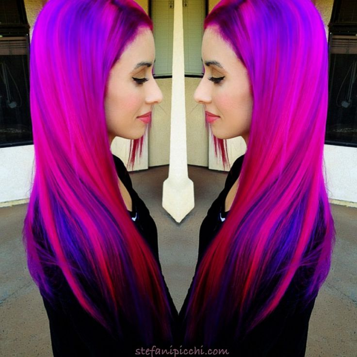 Nadine Pink Hair Purple Hair Pink And Purple Bright Hair  Crayola Magic