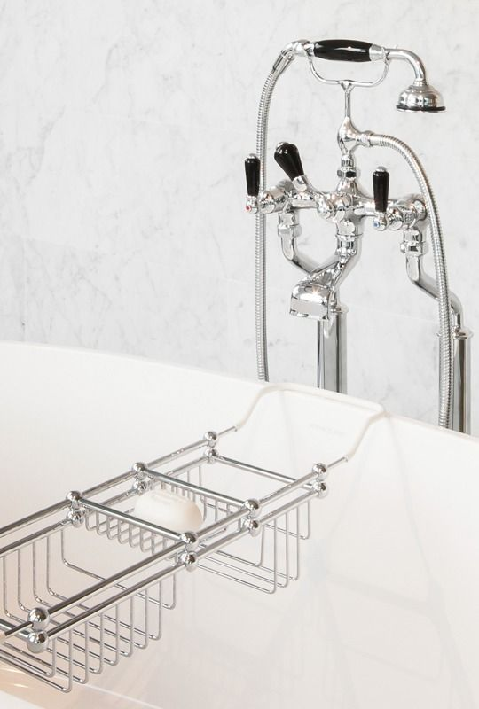 Perrin & Rowe Classical Handshower with Black Detailing In Residence » Archipro