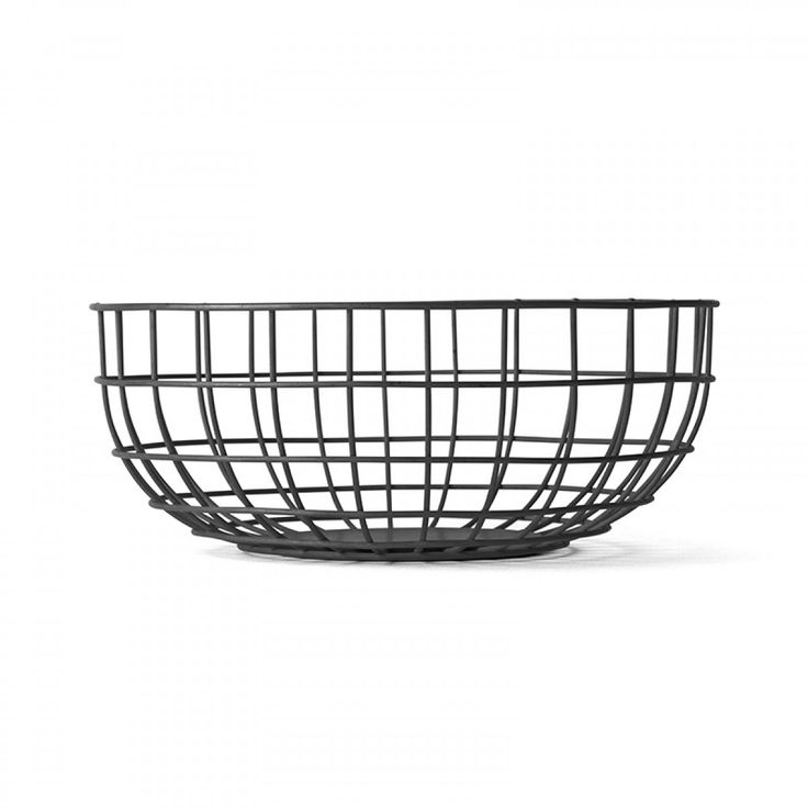 Designstuff offers a range of Scandinavian designed homewares including this beautiful wire fruit bowl and bread basket designed by Norm Architects.