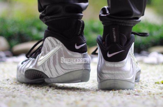 http://SneakersCartel.com A Shimmering Finish For The Nike Air Foamposite Pro Silver Surfer #sneakers #shoes #kicks #jordan #lebron #nba #nike #adidas #reebok #airjordan #sneakerhead #fashion #sneakerscartel