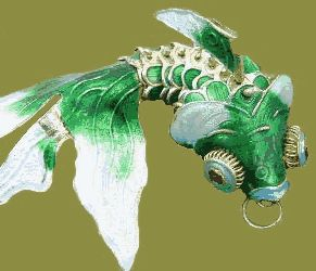 17 best images about art cloisonne on pinterest for Lucky koi fish