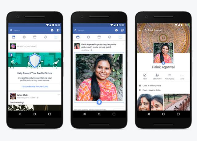 Facebook quiere que no te puedan robar tu foto de perfil   La red social Facebook ha introducido una serie de cambios en su software orientados a proteger la imagen de perfil de los usuarios de forma que no resulte posible copiarla o compartirla. Esta novedad ya está disponible para los usuarios de la red social en la India.  Esta iniciativa de Facebook se aplica tanto a la versión de escritorio de la red social como a la aplicación para dispositivos móviles. Puede activarse desde el menú de…