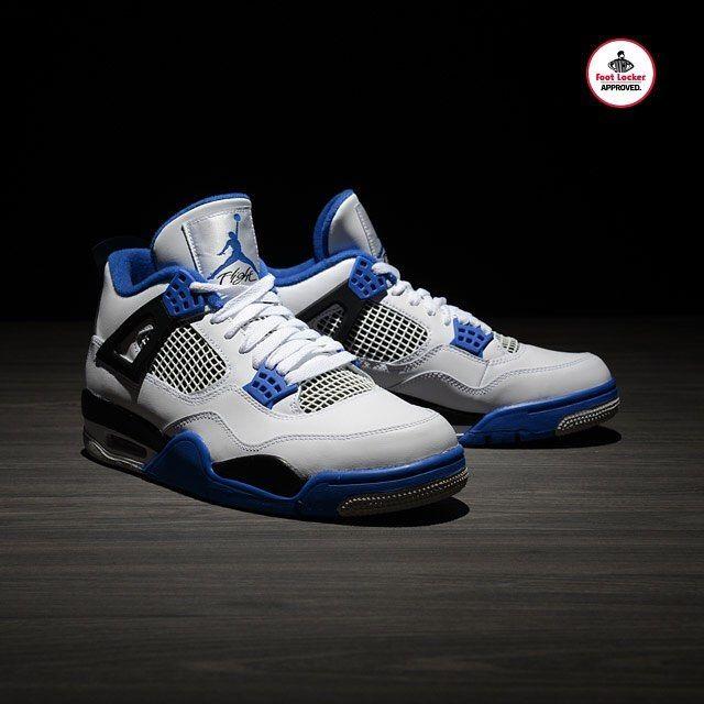 "Foot Locker (@footlocker) on Instagram: ""The Air #Jordan 4 Retro 'Motorsports' arrives in stores and online Saturday. Also available in Kids…"""