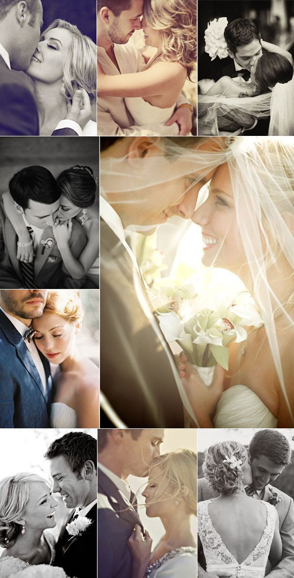 Take a look at the best wedding photography poses in the photos below and get ideas for your wedding!!! Free wedding poses cheat sheet: 9 classic pictures of th