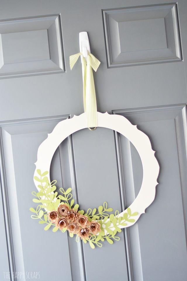 561 Best All Things Wreaths And Door Hangers Images On Pinterest Craft Door Wreaths And Garlands