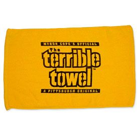 Get this Pittsburgh Steelers Terrible Towel at ThePittsburghFan.com