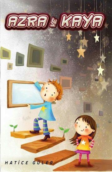 Çocuk kitapları için kapak tasarım çalışması
