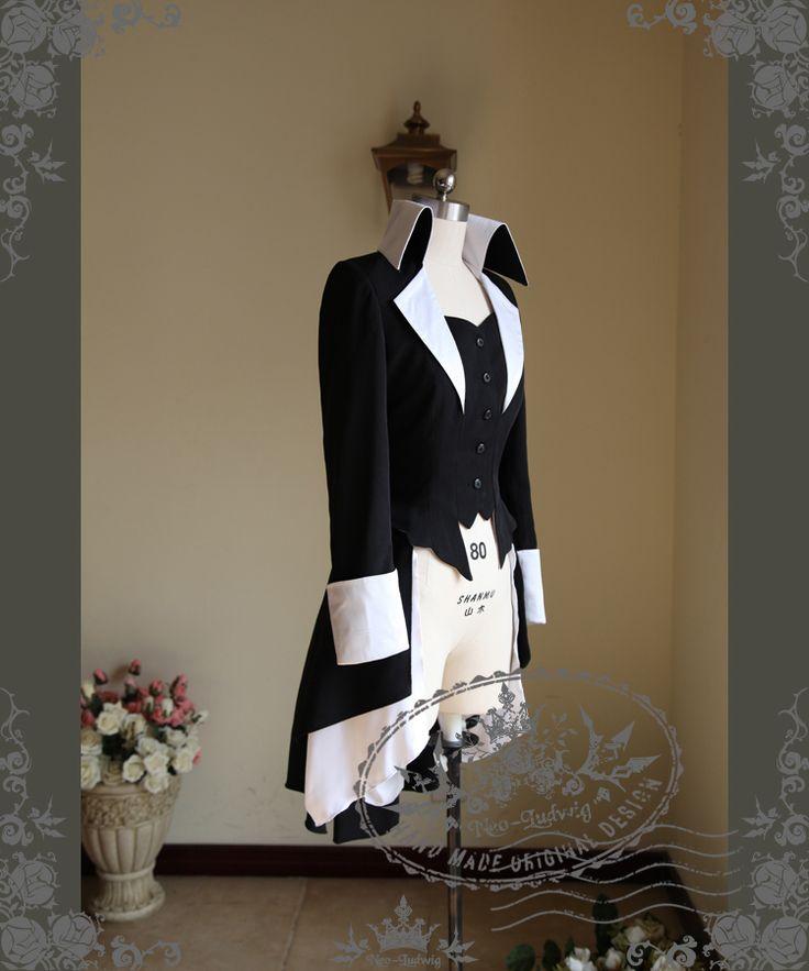 fanplusfriend - Lady Dean: Elegant Gothic Aristocrat, Academic Stand Collar Long Jacket Dress Coat , $158.20 (http://www.fanplusfriend.com/lady-dean-elegant-gothic-aristocrat-academic-stand-collar-long-jacket-dress-coat/)