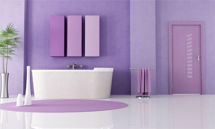 purple color bathroom best 20 purple bathroom paint ideas on from Purple Color Bathroom