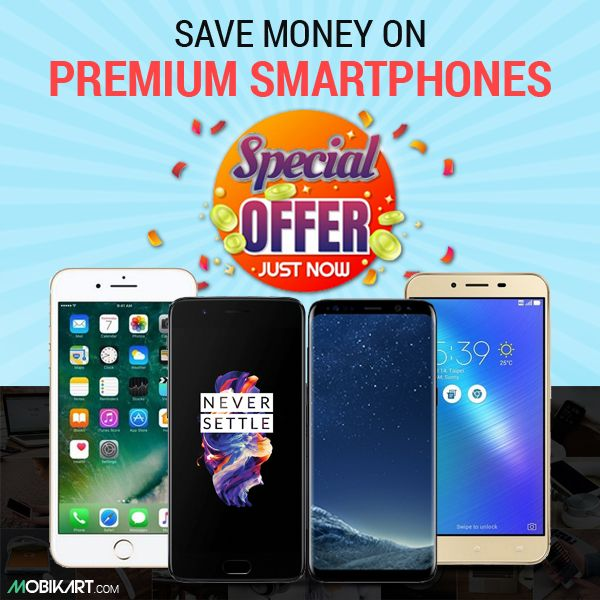 Best deals available on premium and cheap #smartphones.   #iPhone #OnePlus #Samsung #Asus