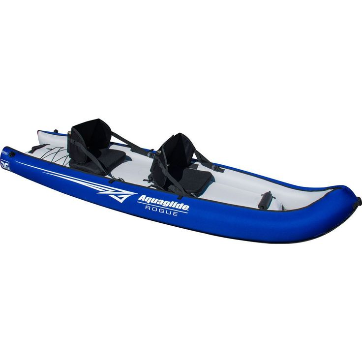 Aquaglide Rogue XP 2 Person Inflatable Kayak | Blue