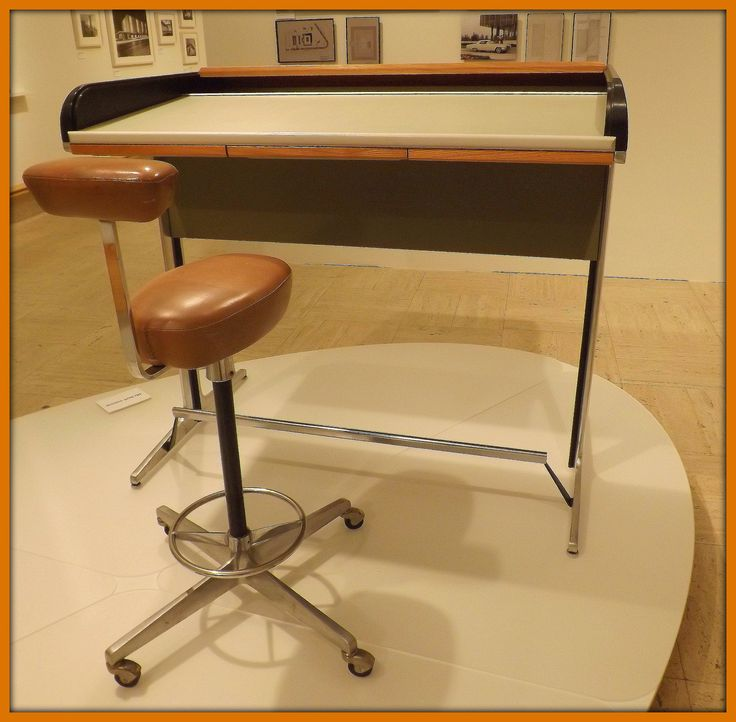 Stand Up Desk And Perch Stool Herman Miller George