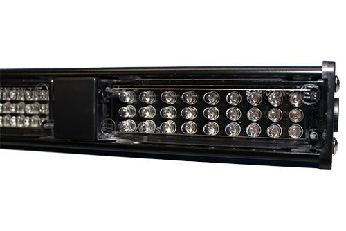 Interior police light bars.