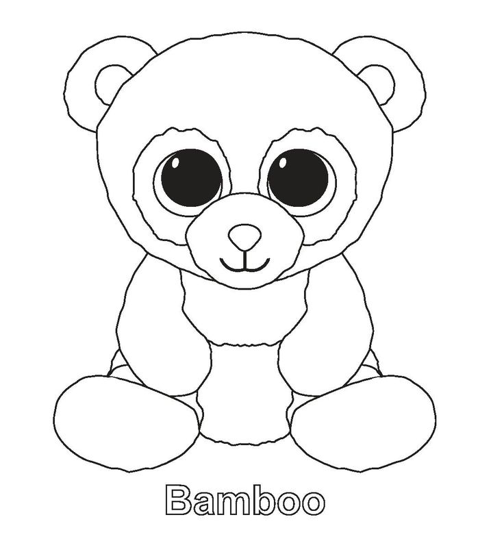 free printable beanie boo coloring pages - 229 best images about coloring pages on pinterest ty