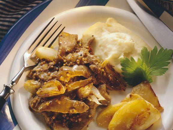 Entenpfanne mit Püree ist ein Rezept mit frischen Zutaten aus der Kategorie Ente. Probieren Sie dieses und weitere Rezepte von EAT SMARTER!