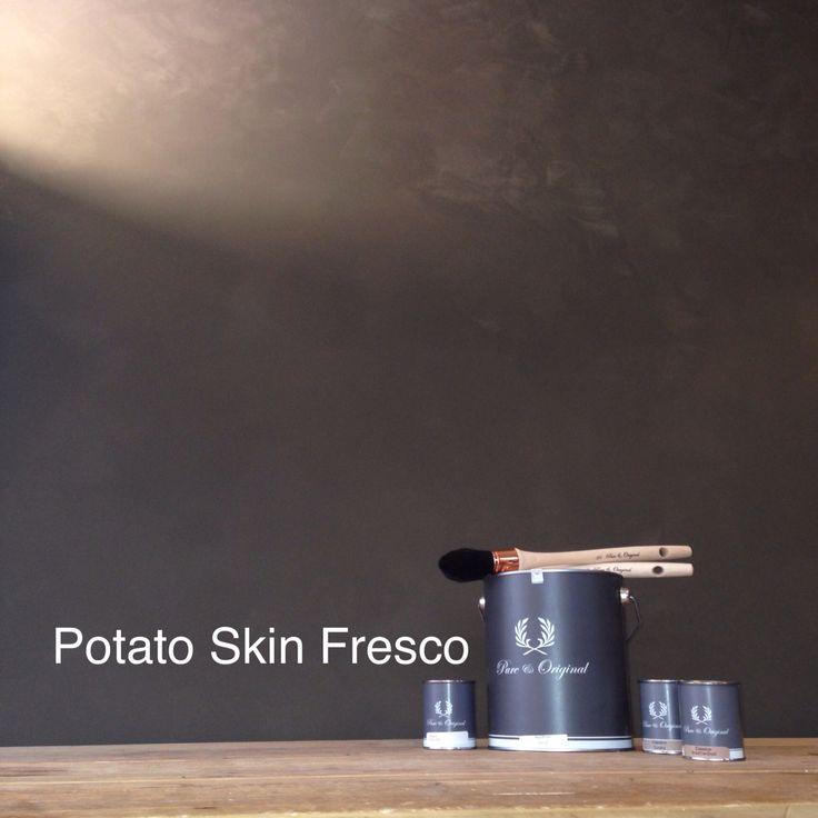 Our beautiful #pureandoriginal #fresco in #potatoskin