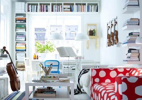 Shelving For Small Living Rooms