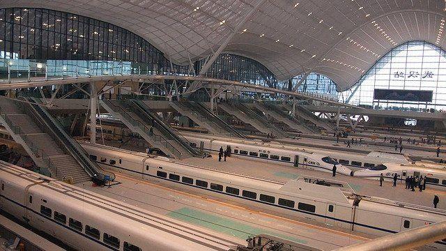 Wuhan railway station main hall - Arep / MaP3