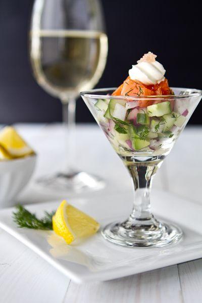 Salmon Gravlax Martini Recipe Recipes For Salmon Shot