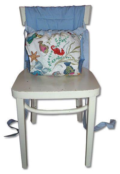 Nähanleitung für Mobiler Babysitz (für alle Stühle passend!)