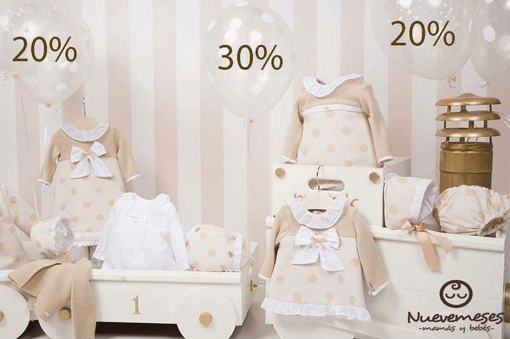 En Nuevemesesbaby nos adelantamos a las rebajas con descuentos de hasta el 30% en todos la moda bebé-infantil Mayoral y Yoedu. Descubrelas en tu tienda online http://nuevemesesbaby.es/productos-de-bebes/moda-bebe-infantil