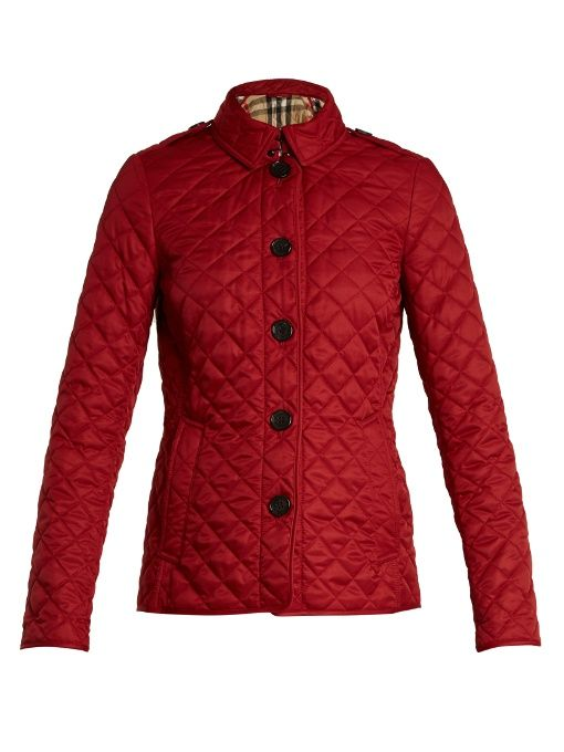 BURBERRY Ashurst Quilted Jacket. #burberry #cloth #jacket